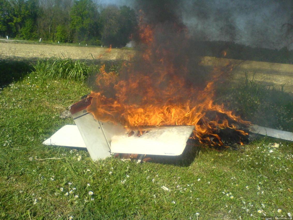 Feuer Bestattung