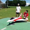 Pilot Alexander mit Chef Günther